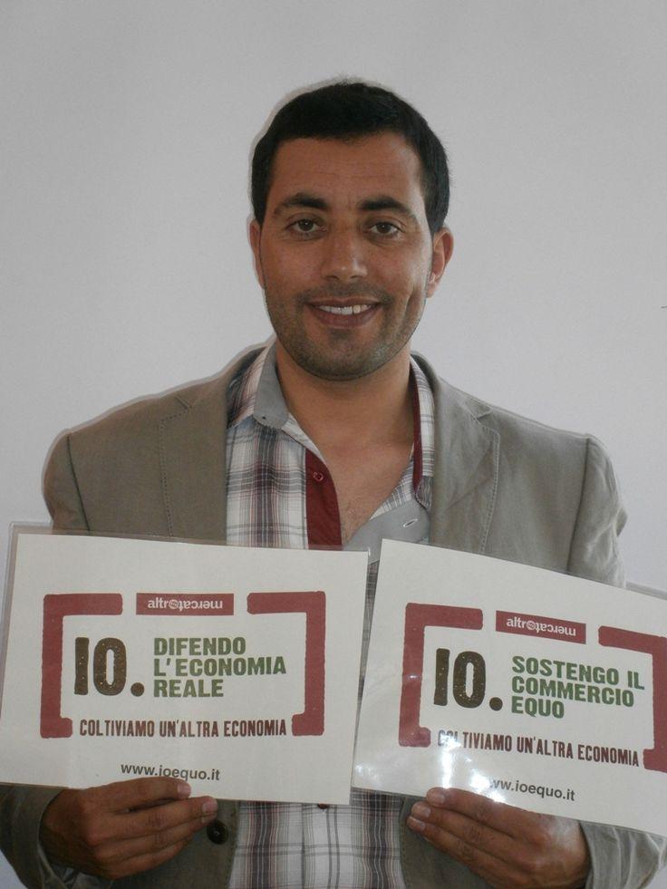 Rachid Elhiyani - Taliouine (Marocco)  http://www.altromercato.it/ioequo/sostenitori