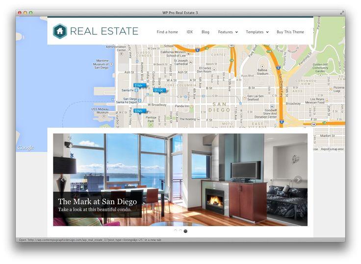 WP Pro Real Estate 3 Responsive WordPress Theme