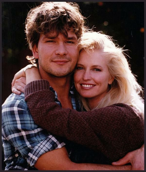 I really love this shot of Patrick and Lisa Swayze. They're so young, healthy, beautiful - and the chemistry between them shoots right off the page! - Ronni