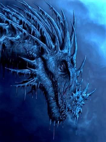 Snow, Ice, & Frost Dragons mostly found in Montana...