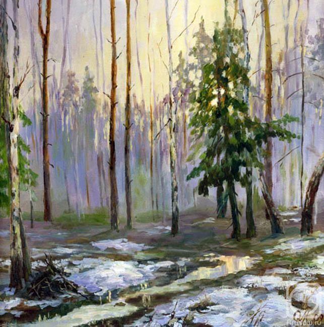 Маланчева Ольга. Последний снег