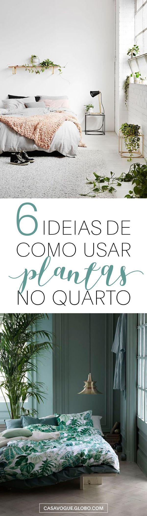 Quartos decorados com plantas! Descubra as espécies ideais