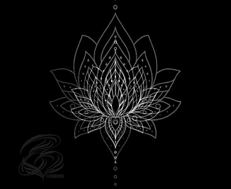 lotus mandala tattoo on behance cool tatts and design. Black Bedroom Furniture Sets. Home Design Ideas