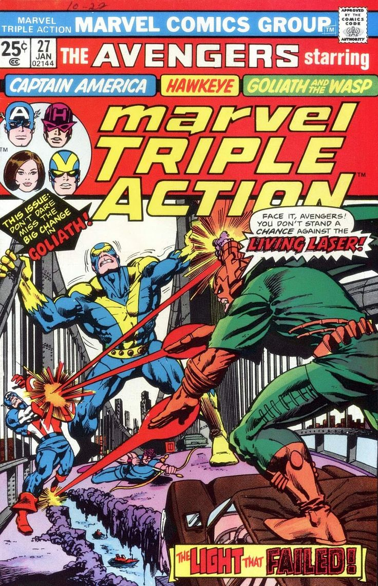 Marvel Triple Action Issue #27 - Read Marvel Triple Action Issue #27 comic online in high quality