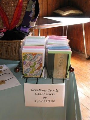 CD Holder for greeting cards