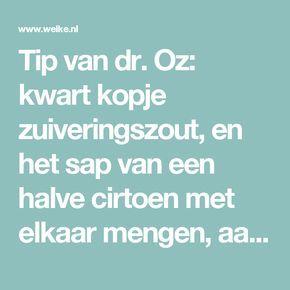 Tip van dr. Oz: kwart kopje zuiveringszout, en het sap van een halve cirtoen met elkaar mengen, aanbrengen met een wattenstaafje. Even laten zitten (niet langer dan een minuut), daarnaar goed je tanden poetsen om de resten te verwijderen.. Foto geplaatst door Nathalie72 op Welke.nl