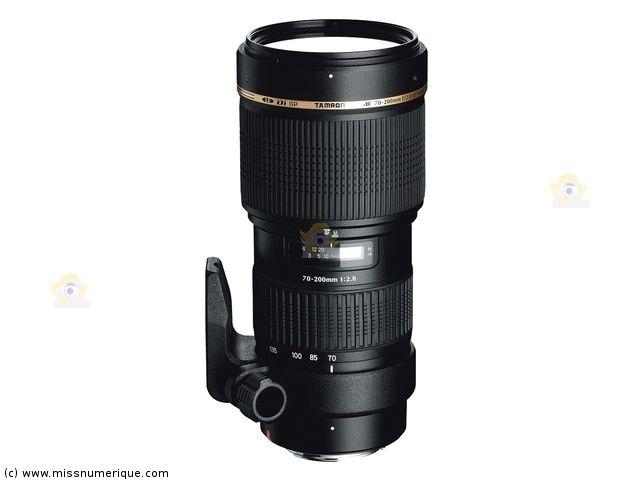 TAMRON SP AF 70-200 mm f/2.8 Di LD (If) Macro monture NIKON objectif photo