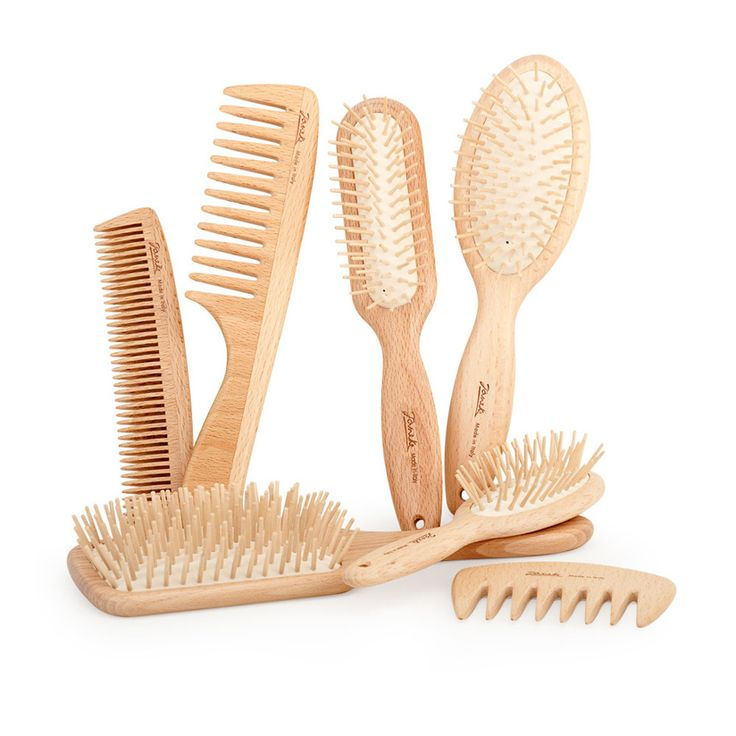 how to clean your wooden hair brush