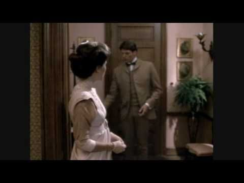 "1980 ""Somewhere in Time"" Starring Christopher Reeve and Jane Seymour The most romantic movie I have ever seen.  Here are some clips. http://en.wikipedia.org/wiki/Somewhere_in_Time_(film)"