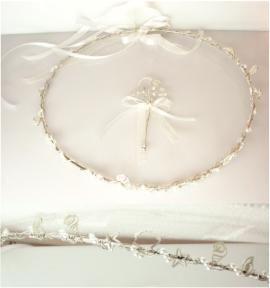 Ασημένια στέφανα 925 με στοιχείασε κοχύλια και αχοιβάδες. #marizaart #greekart #art #greece #wedding