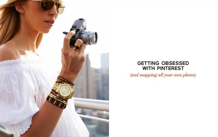 """Michael Kors is - """"Absolutely #FallingInLoveWith @Pinterest."""" Share your inspirations with Michael Kors on #Pinterest."""
