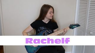 Rachelf: For Whom The Bell Tolls - Metallica   Rachelf: I started playing the electric guitar in January 2016 when I was 22. Soon after I began making YouTube videos to keep myself motivated. I'm passionate about guitar music and learning and would love to have you with me on my guitar playing journey! I made the following video to document my first year progress learning to play the electric guitar.# Get a Rachelf shirt and support the channel here! http://ift.tt/2eOZJBC My Gear…