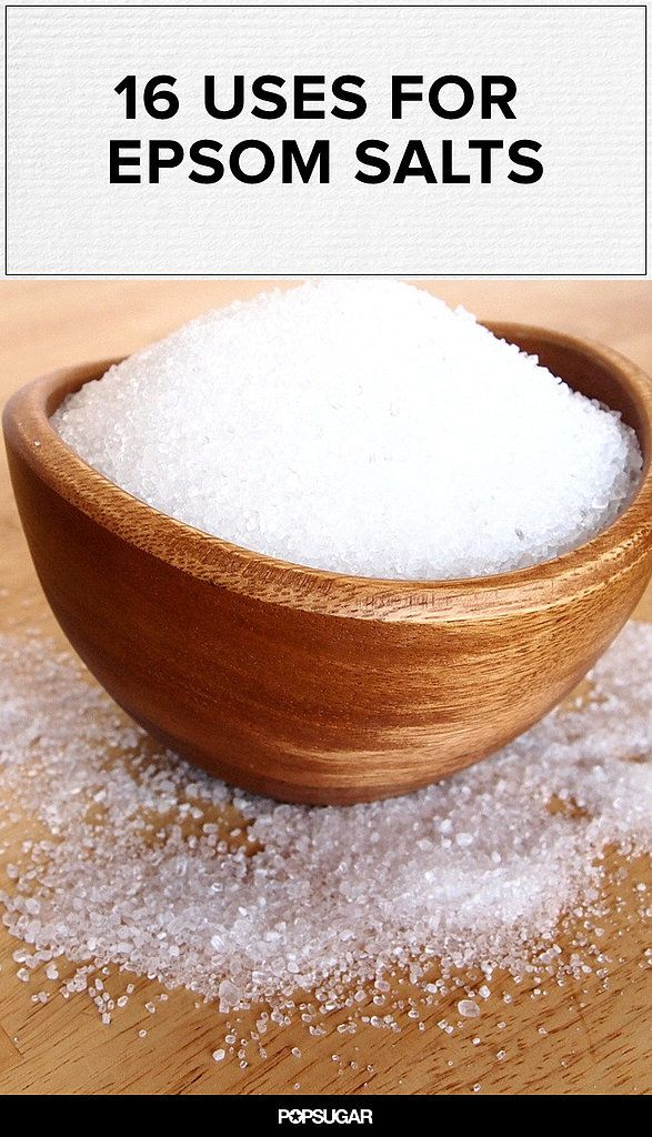 16 Great Ways to Use Epsom Salts (sulfato magnesio