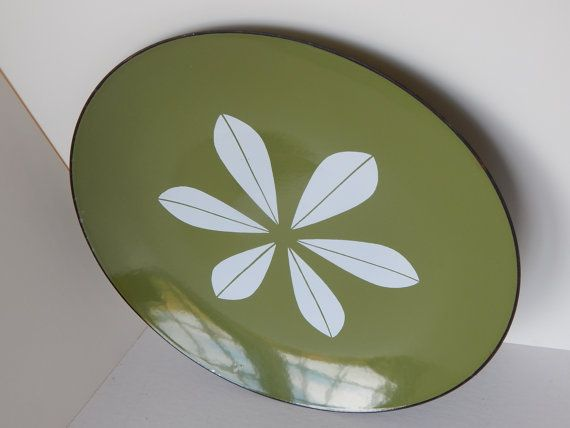 Catherineholm Enamelware 12 Lotus Charger by GlitteringDragonfly