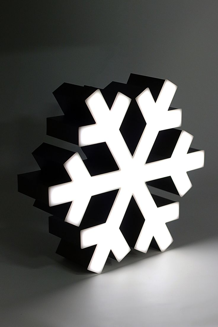 Snowflake @ LAMBO Collection, Illuminated Marquee Lighting, a product ready in a luxury packaging, perfect for gift