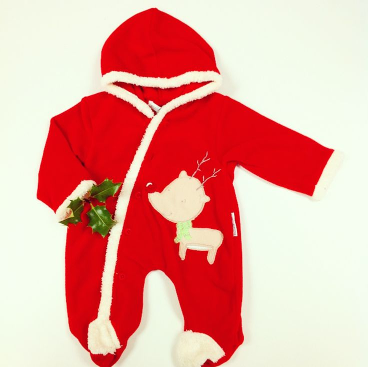 Keep your baby cosy this Christmas with our gorgeous Santa suit!