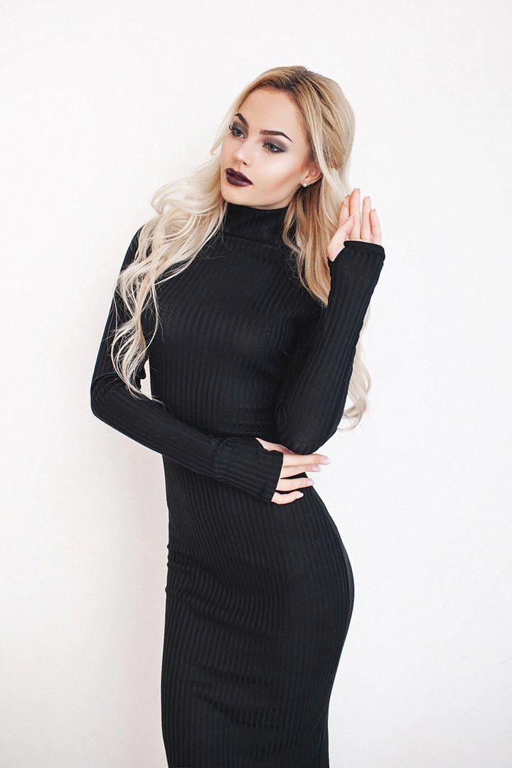 """Красивое облегающее платье-гольф : продажа, цена в Одессе. платья женские от """"Интернет-магазин стильной одежды """"x04y"""""""" - 476690128"""