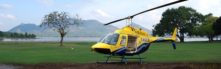 Tour en Hélicoptère / Montgolfière.  Prenez de la hauteur en vous offrant un tour en hélicoptère. Une expérience unique que vous permettra de capturer un panorama unique en survolant les principaux monuments du pays. C'est aussi un moyen facile d'optimiser votre circuit au Sri Lanka en passer rapidement d'un endroit à l'autre.