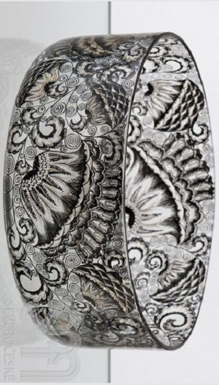 Miska . Karl Massanetz , Kamenický Šenov 1913 - detail