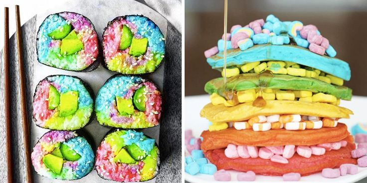 That grilled cheese though...21 Unbelievably Magical Rainbow Foods You Never Knew Existed