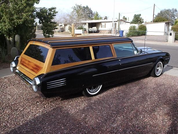 Ford Thunderbird Station Wagon,  Is that a beautiful car, or what!!!