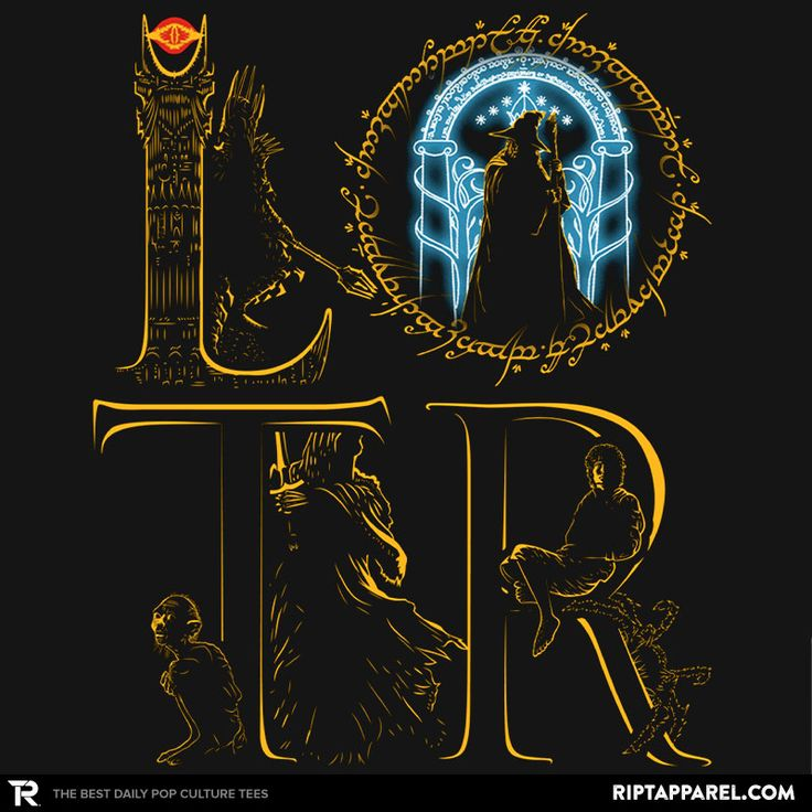 LOTR T-Shirt - Lord of the Rings T-Shirt is $13 today at Ript!