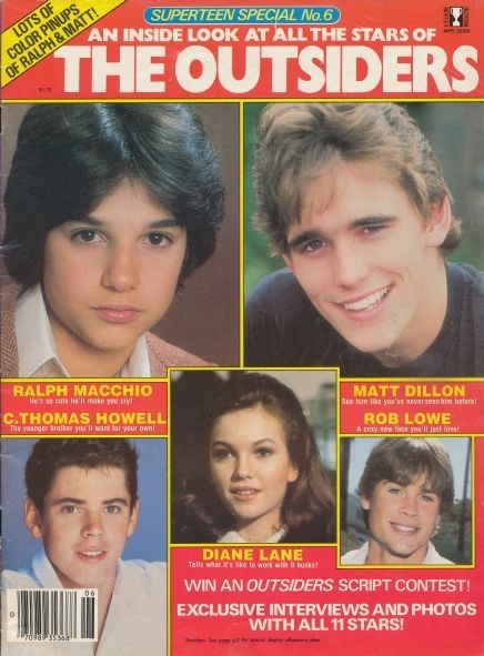 Super Teen Special - The Outsiders *Oh dear gods Ralph, you are the most adorable thing eva!*