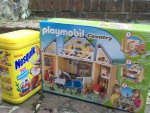 Vous aussi vous aimez les Playmobil ? Nesquik vous en offre ! {jeu} • Hellocoton.fr