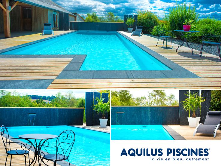 9 best piscines aquilus formes insolites images on for Aquilus piscine
