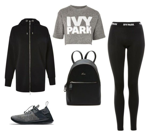 Park Code by nr-246 on Polyvore featuring polyvore fashion style Ivy Park Topshop NIKE Lacoste clothing