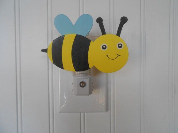 Items Similar To Bumble Bee Night Light