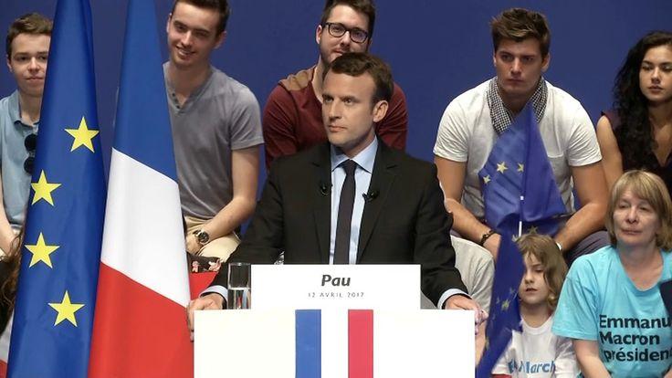 """Macron tacle le FN: """"Il fait le commerce du malheur"""""""