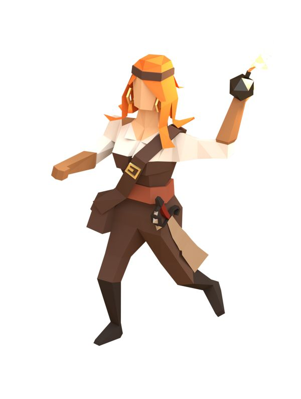 Pirates of the polygon sea on Behance