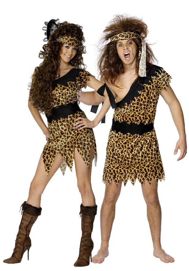 disfraz de pareja de caverncolas disfraz de hombre caverncola magnfico disfraz de terciopelo para