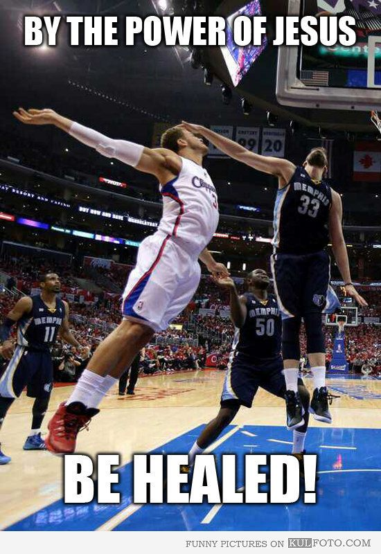 Jesus & basketball :-D