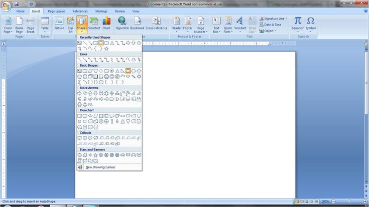 How to make cute clipart and things on Microsoft Word. (For the day when I eventually have free time.)