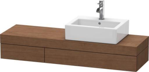 fogo konsole mit schubkasten f r aufsatzschalen oder halbeinbau fo8378 duravit waschtisch. Black Bedroom Furniture Sets. Home Design Ideas