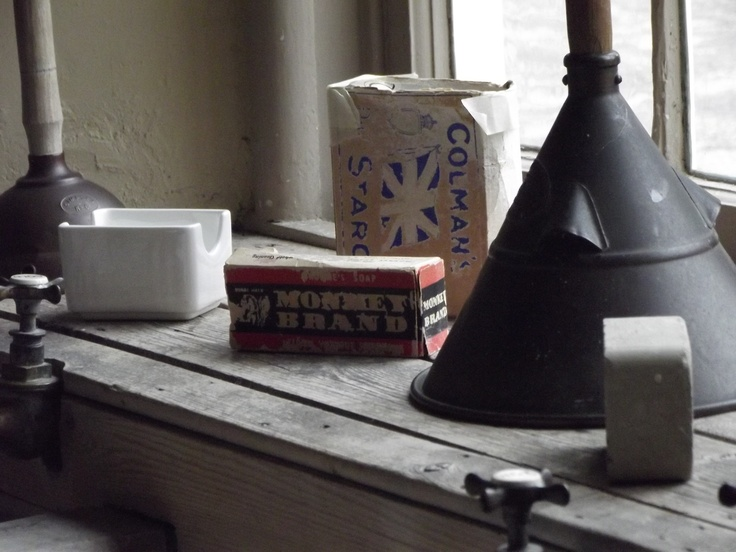 I love my indoor shots from National Trust houses - I love to explore the less obvious places like the kitchens and the laundry.