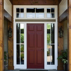 Exterior Doors With Sidelights And Transom