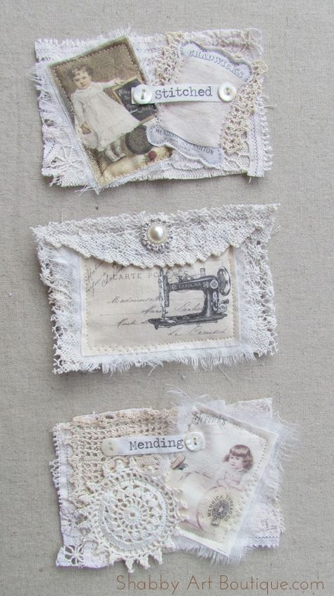 DIY vintage de ~ 3 Pocket Stockage Hanger – Shabby Art Boutique