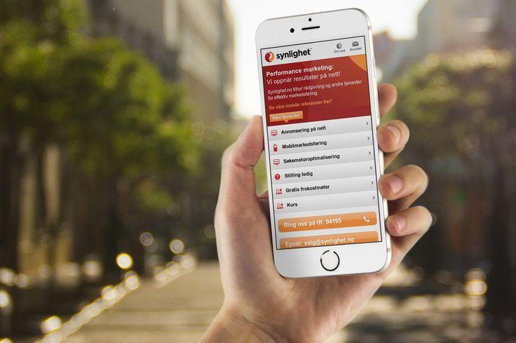 Nå må nettsiden din være mobilvennlig