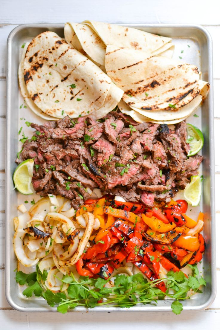 Skirt Steak Fajitas recipe - Foodista.com