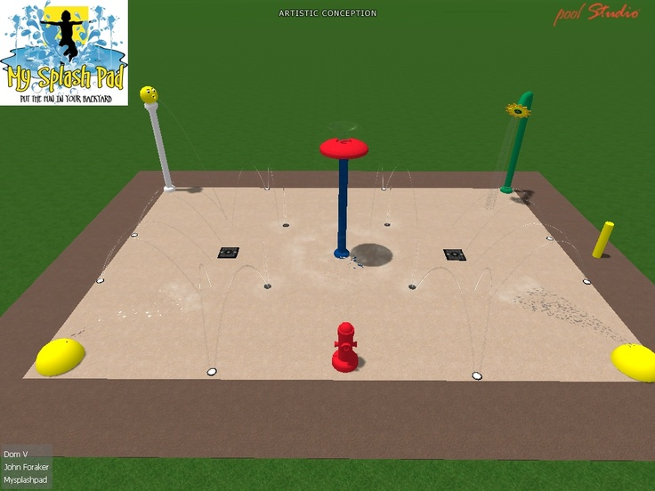 68 Best Upcoming My Splash Pad Installations Images On