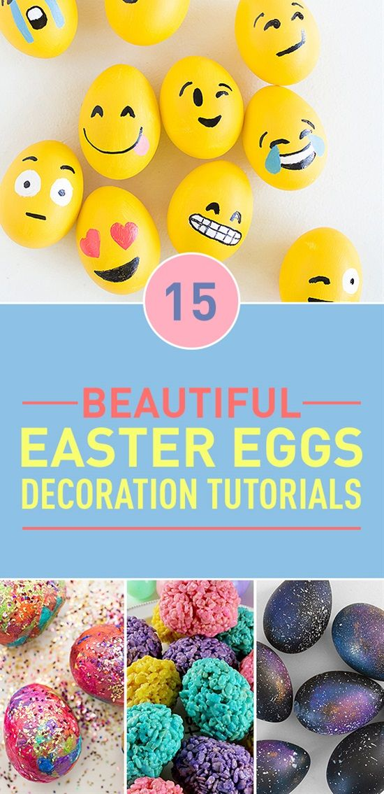 With Easter around the corner it's time to show your creativity and skills when it comes to decorating Easter eggs. Here is our collection of the best and the easiest decorations you can try out this year.