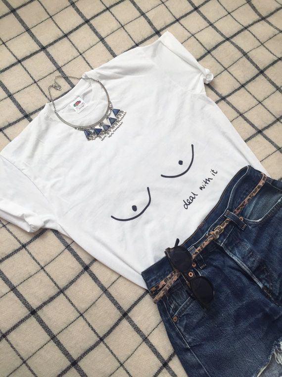 A tee that totally gets your #freethenipple agenda. | 19 Gifts Every Proud Feminist Will Absolutely Adore