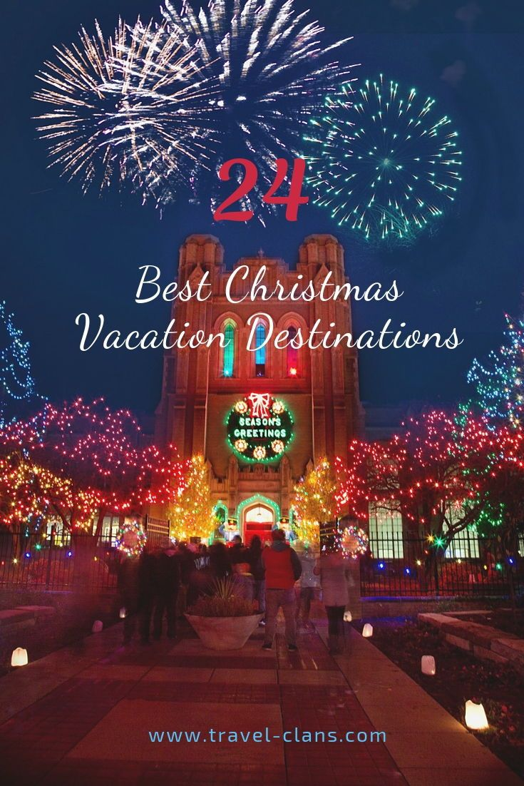 24 Best Christmas Vacation Destinations - Part 2 (With images) | Christmas  vacation destinations, Best island vacation, Best christmas vacations