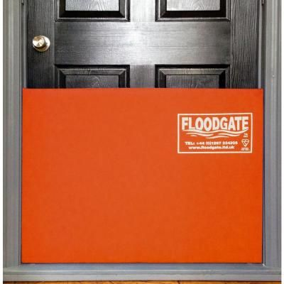 Quick Dam 30 in. to 35 in. Expanding Doorway Flood Barrier-QDFG30 - The Home Depot