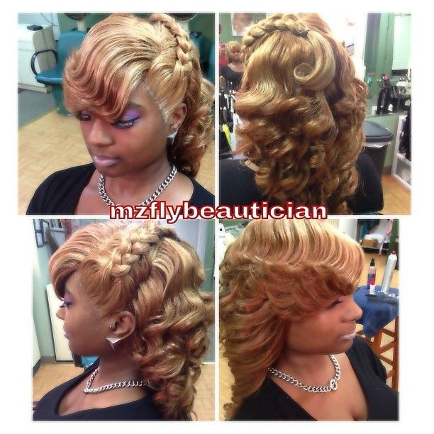curly style for hair image of illusion braid quickweave dvd hair 8561