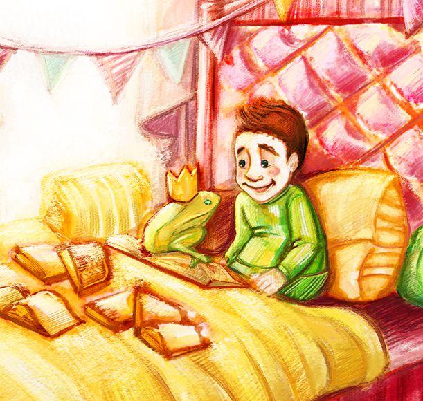 """Prince and the frog """"Print""""  - Thumbnail 1"""