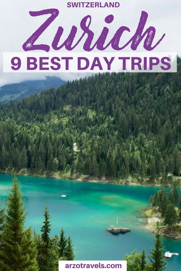 9 fun day trip ideas from Zurich, Switzerland. Where to go and what to see near Zurich I Day trips from Zurich